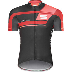 Sportful Gruppetto Pro Team - Maillot manches courtes Homme - rouge/noir